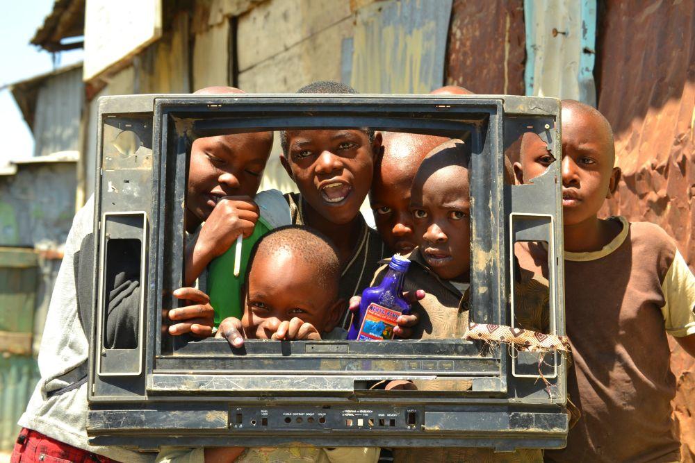 Kinderim Mukuru Slum woFilmeeine wichtige Rolle in deren Leben spielen