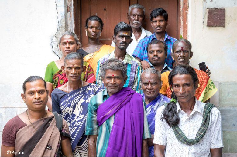 Mitglieder der LGBTQI Gemeinschaft in Virudhunagar, Tamil Nadu