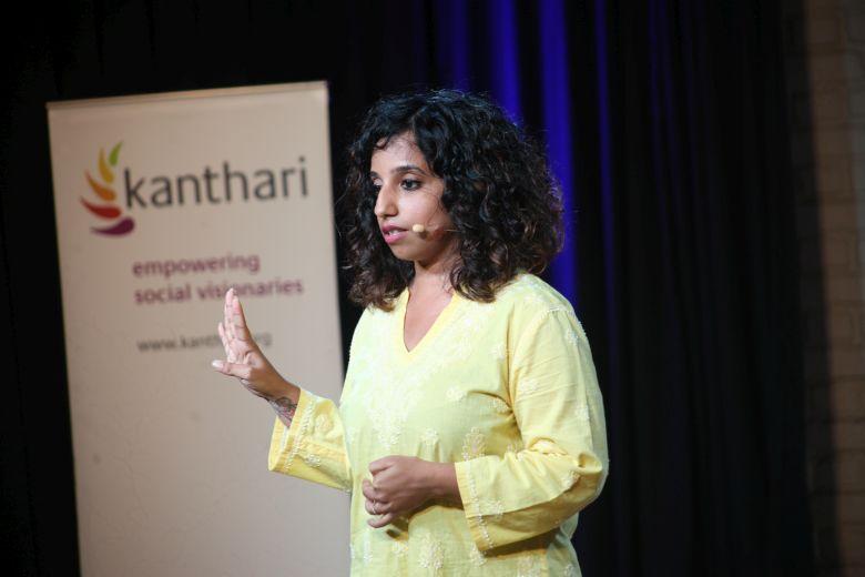 Meghana Raveendra,founder of moringas.org