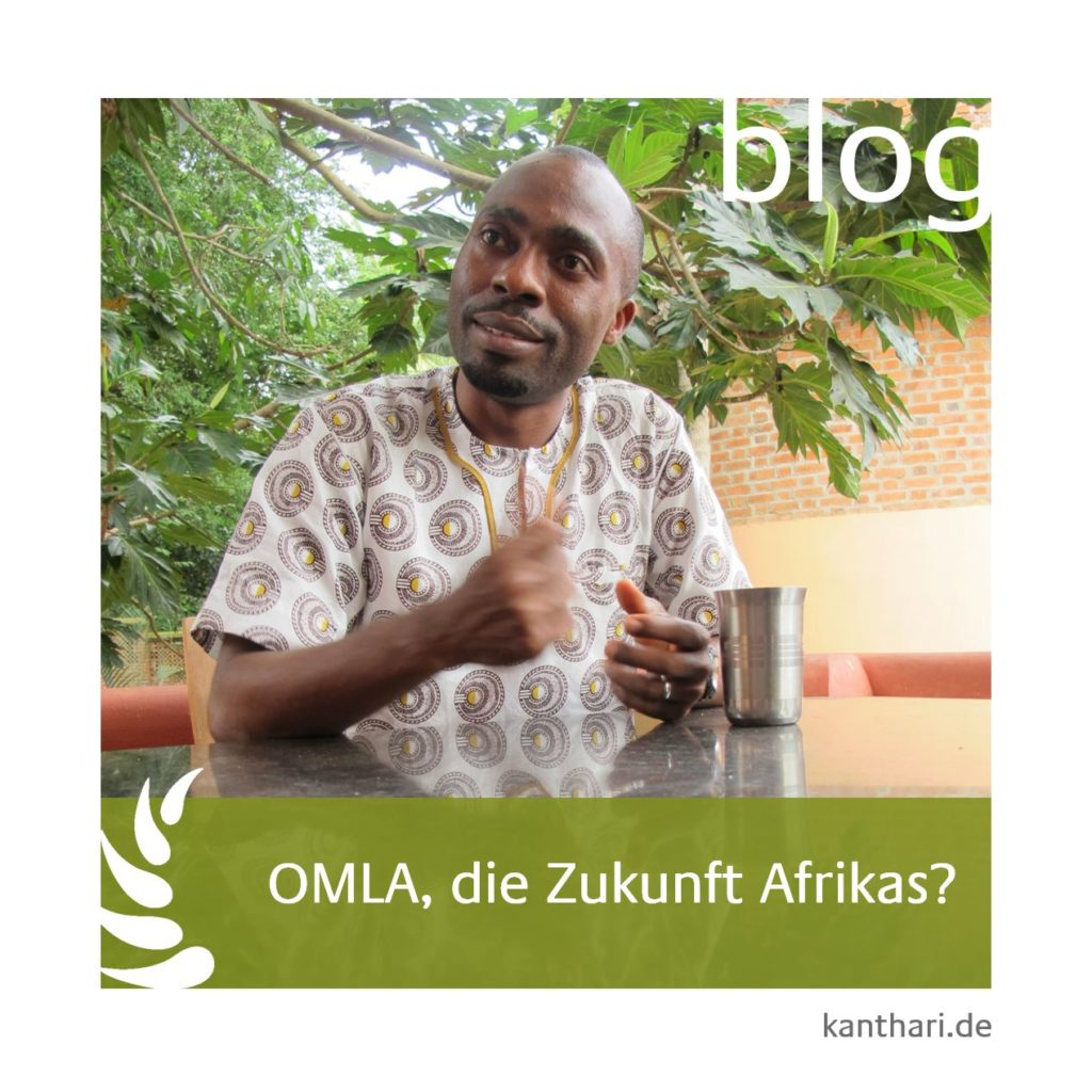 One Million Leaders Africa's Gruender Lawrence Afere from Nigeria