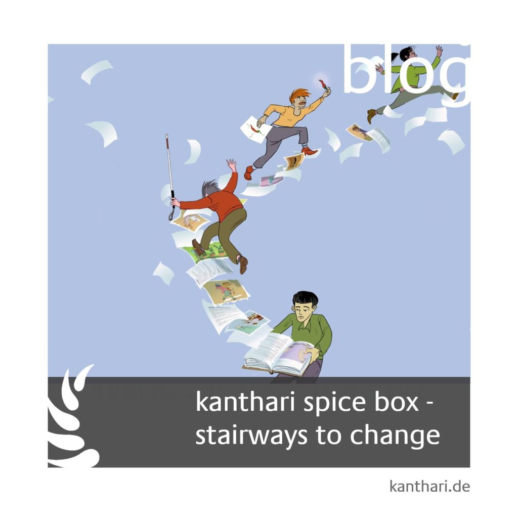 kanthari spice box - stairways to change