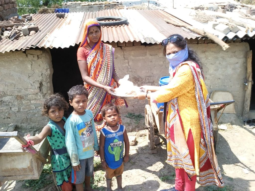 dalit families in Amravati receive happiness kit which saves lives